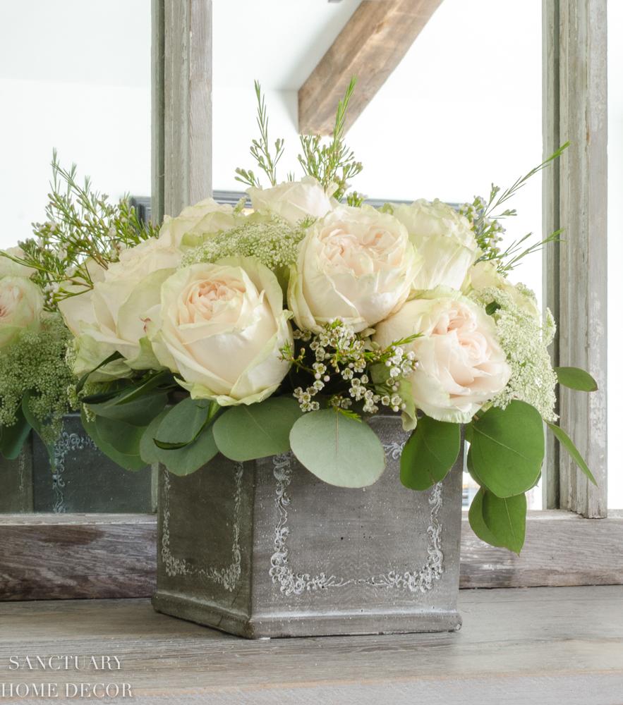 Make This Floral Arrangement In 3 Easy Steps Sanctuary Home Decor
