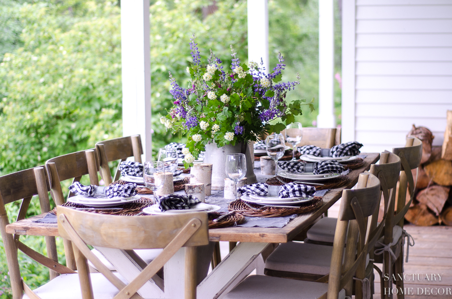 Merveilleux Today, I Wanted To Share A Few Tips For Creating A Casual Outdoor Summer  Table That You Can Share With Those You Love.
