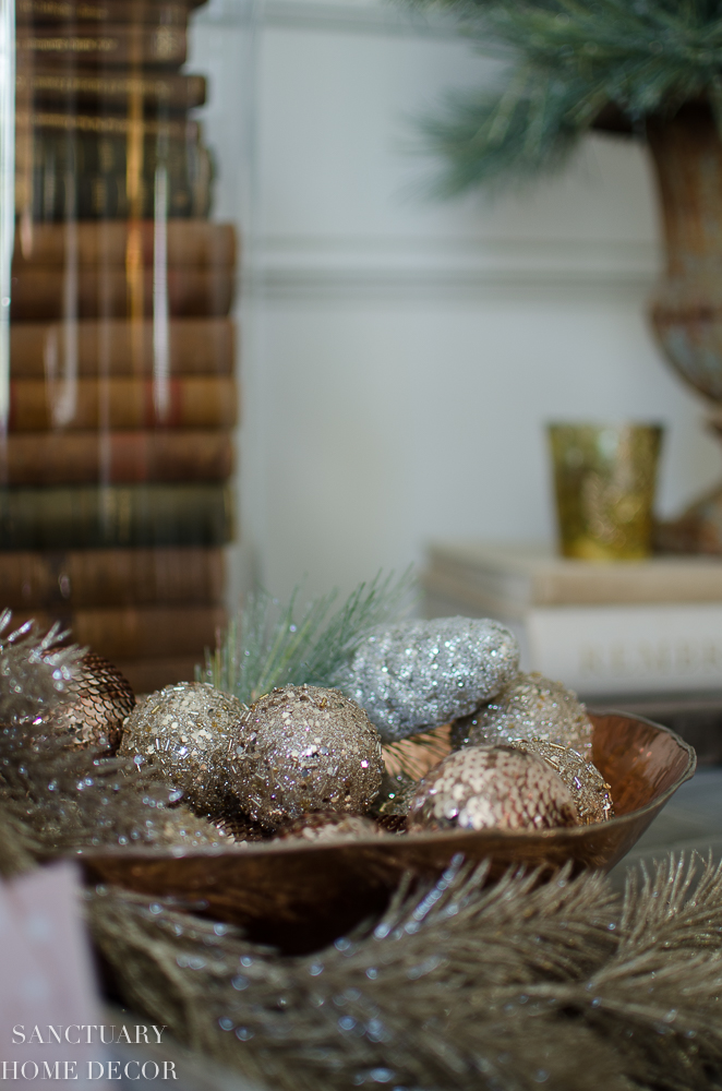 Christmas Decorating With Blush Rose Gold And Copper Sanctuary