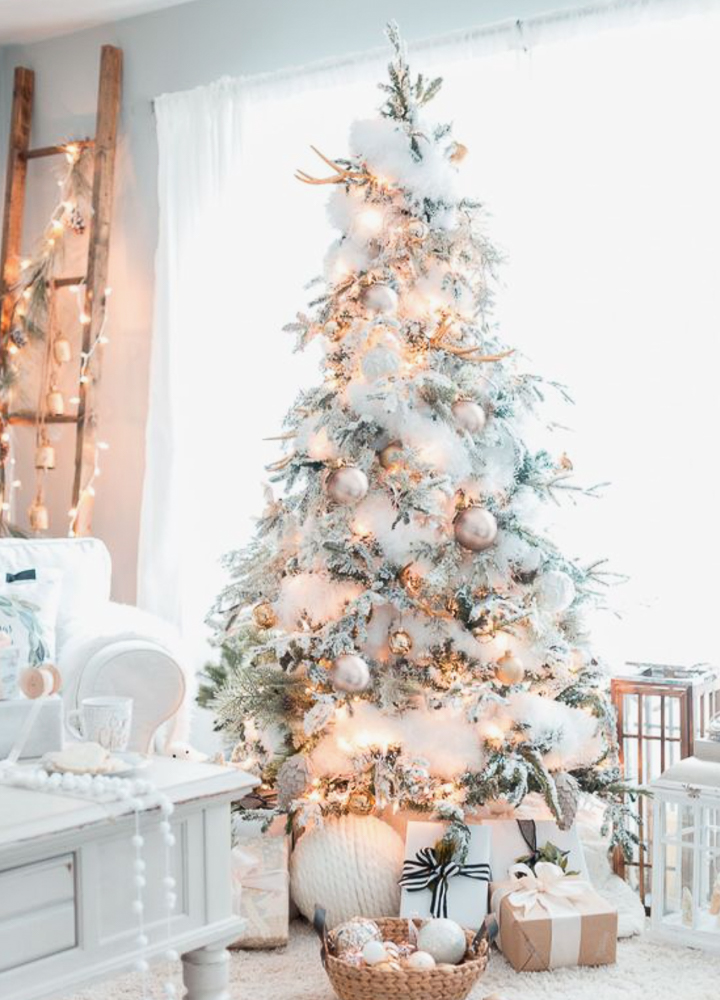 White Christmas Tree Design.16 Inspiring Christmas Tree Decorating Ideas Sanctuary