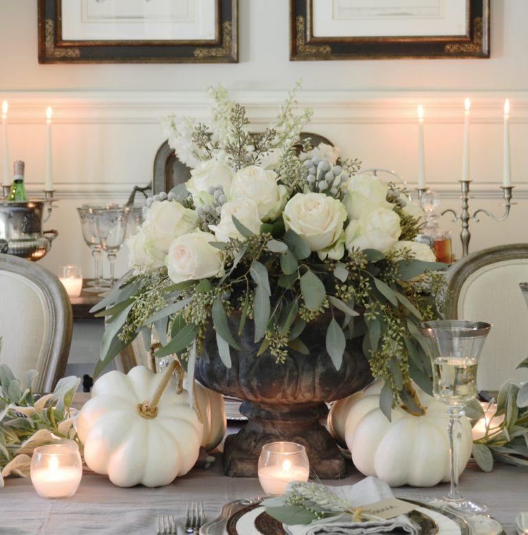 A Neutral Thanksgiving Table