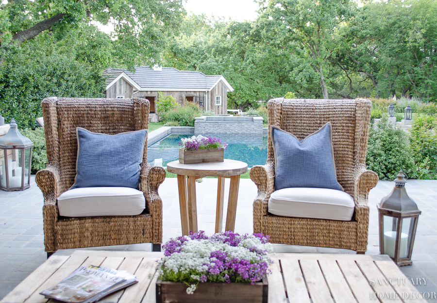Easy Decorating Ideas For A Patio Makeover Sanctuary Home Decor