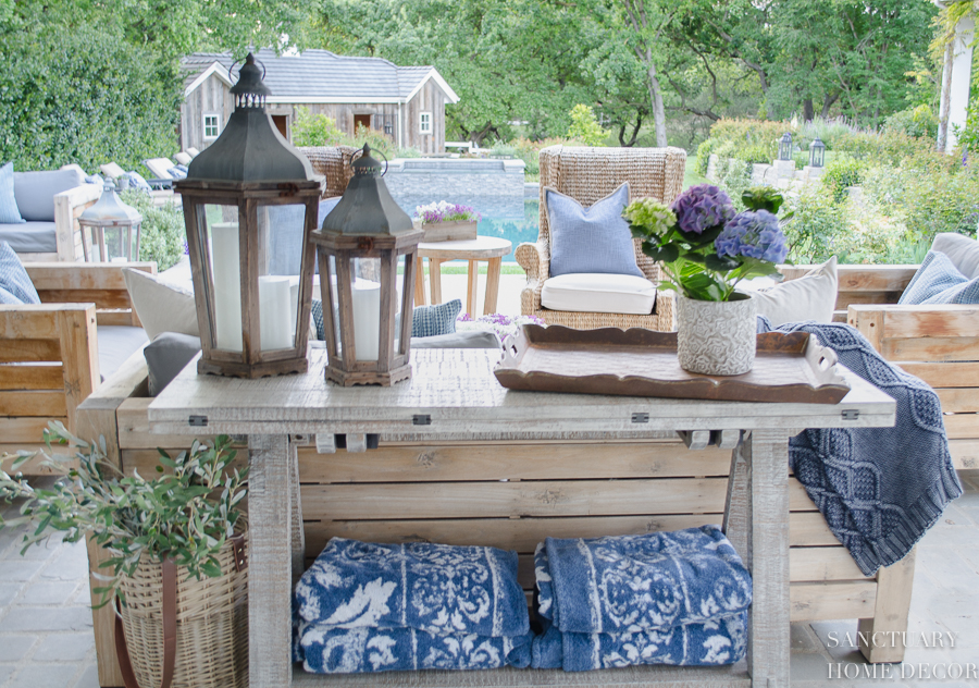 Easy Decorating Ideas for a Patio Makeover - Sanctuary ... on Basic Patio Ideas id=62390