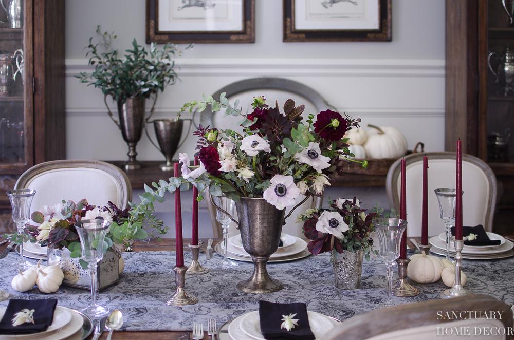 Elegant Fall Thanksgiving Table Ideas