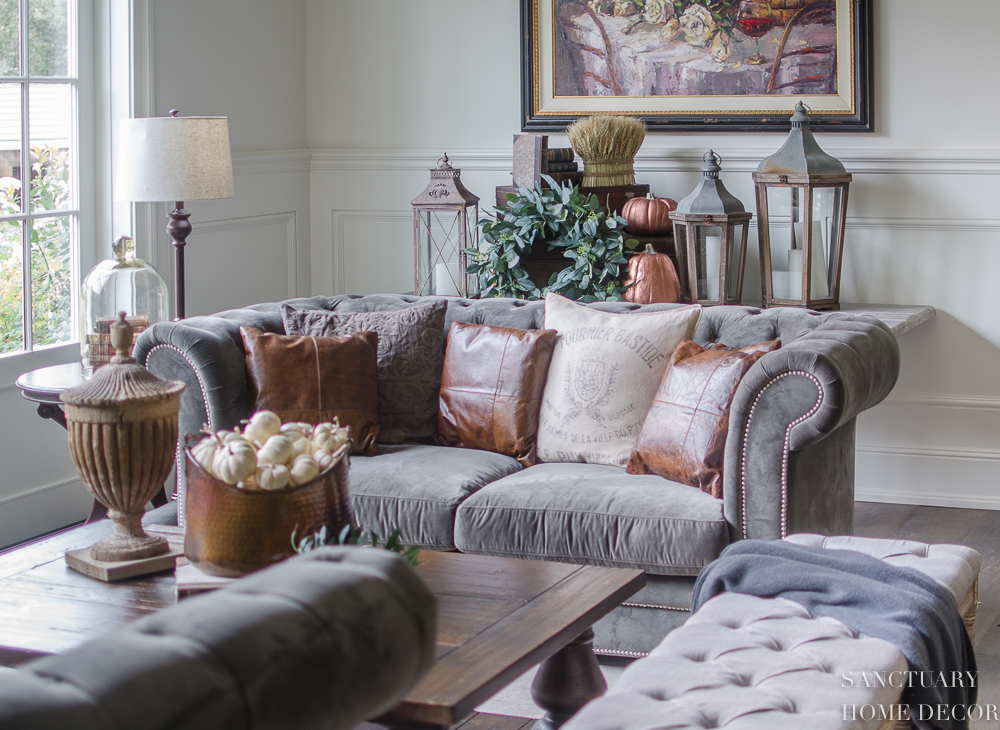 How to Express Your Fall Decorating Style - Sanctuary Home Decor