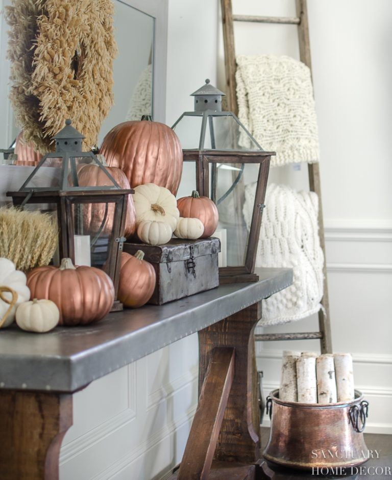 How To Make Copper Pumpkins in 15 Minutes