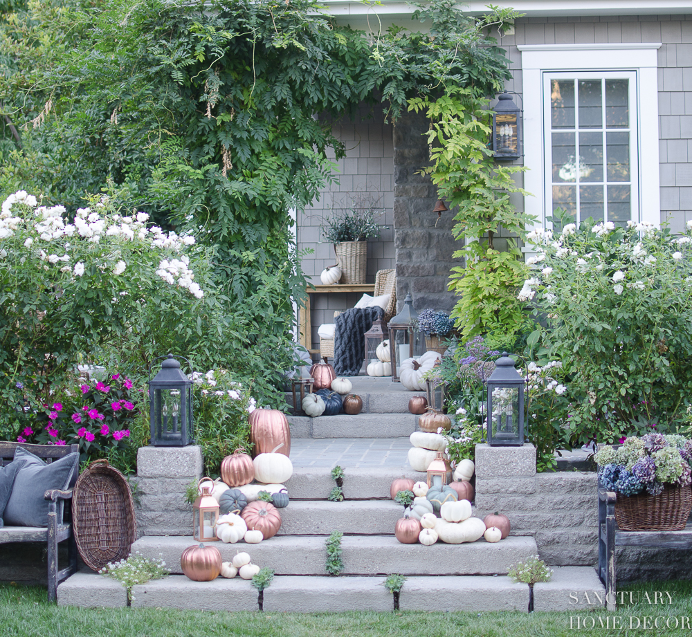 Instagram Fall Decorating Ideas: 3 Tips For Outdoor Fall Decorating