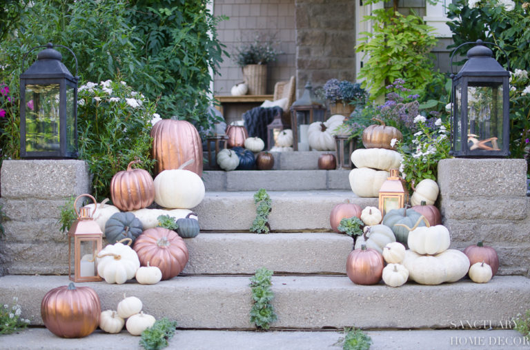 3 Tips for Outdoor Fall Decorating