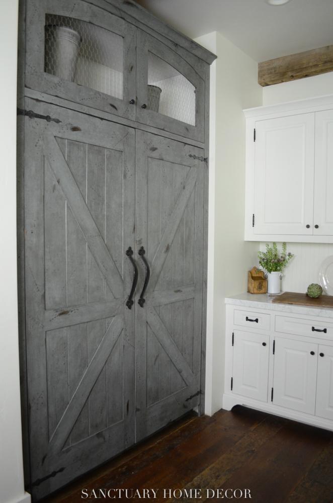 Before After Farmhouse Kitchen Remodel Sanctuary Home Decor