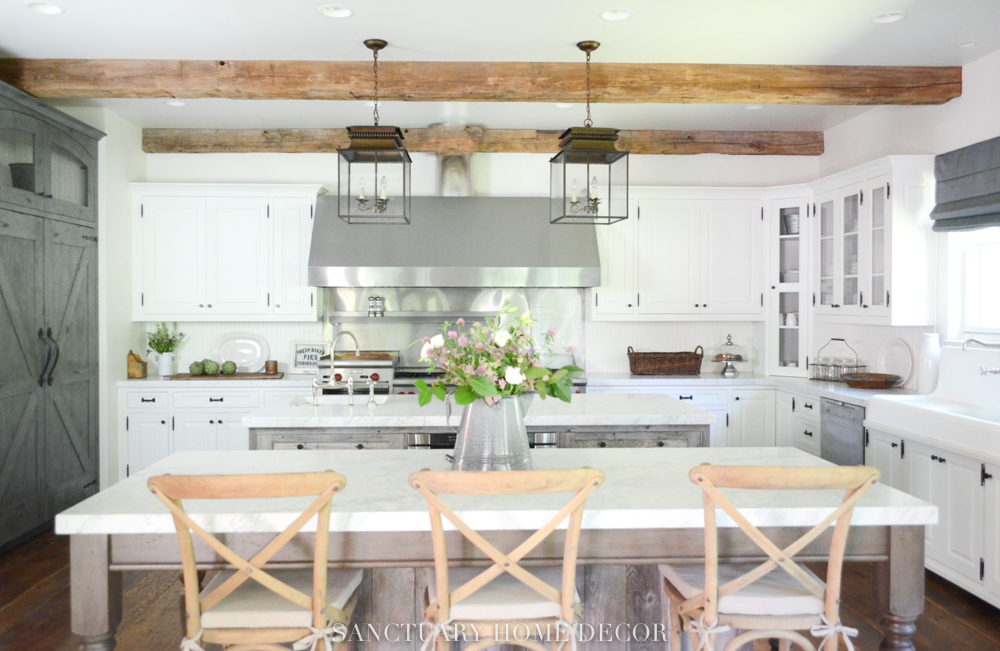 Before After Farmhouse Kitchen Remodel Sanctuary Home Decor
