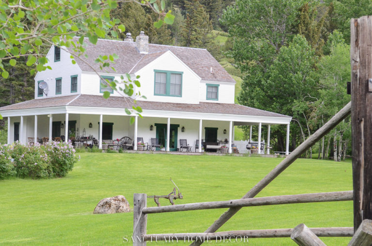A Tour Of Our Montana Ranch Plus My Summer Shopping Guide