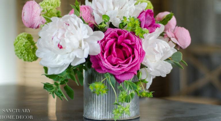 Make This Spring Flower Arrangement in 3 Easy Steps
