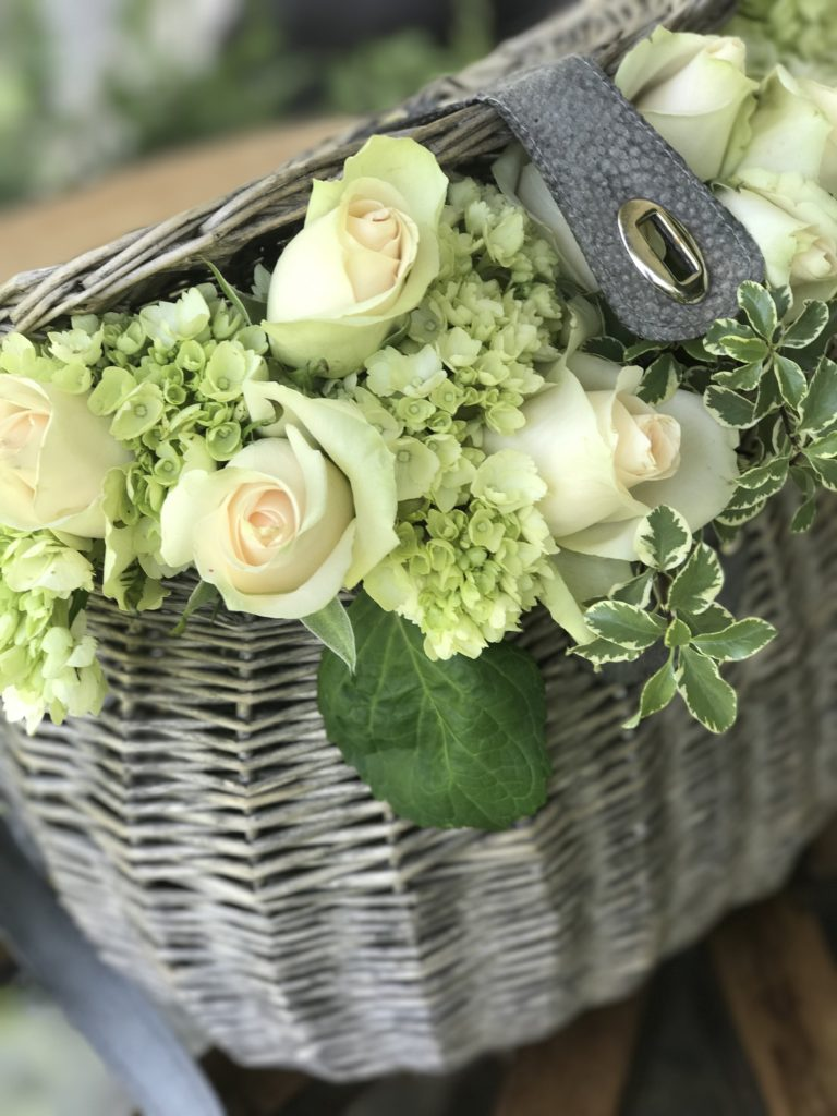 How to Arrange Flowers in a Basket