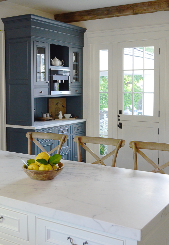 How I Transformed My Kitchen By Painting One Cabinet Sanctuary Home Decor