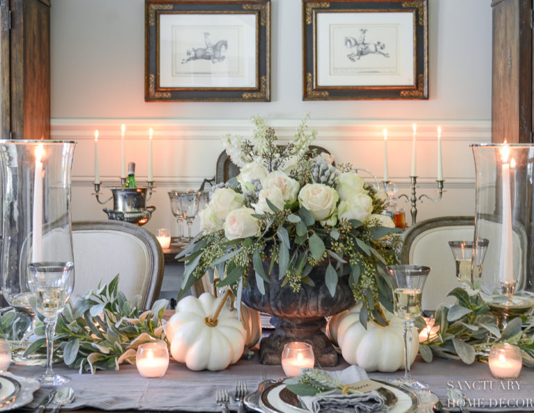 How to Make This Fall Centerpiece in 3 Easy Steps