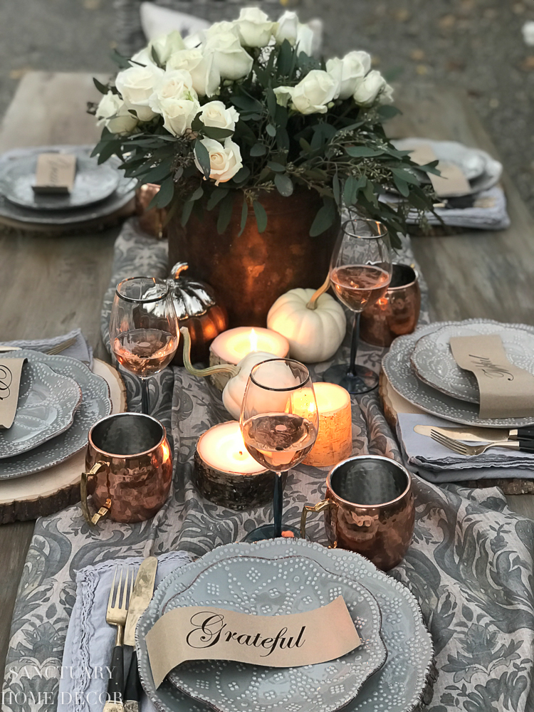 Free Printables for your Thanksgiving Table