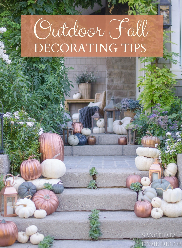 Outdoor Fall Decorating Tips