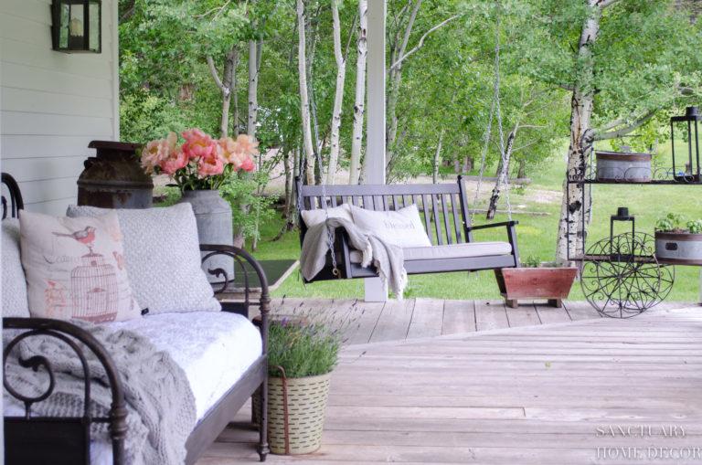 The Joy of Summer Porch Sitting