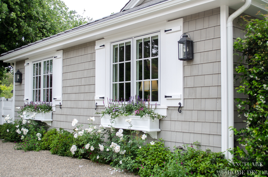 How Window Shutters And Planter Bo Transformed The
