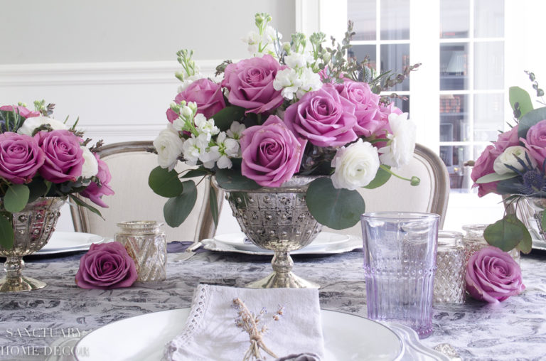 How to Make this Centerpiece plus an Easy Spring Tablescape