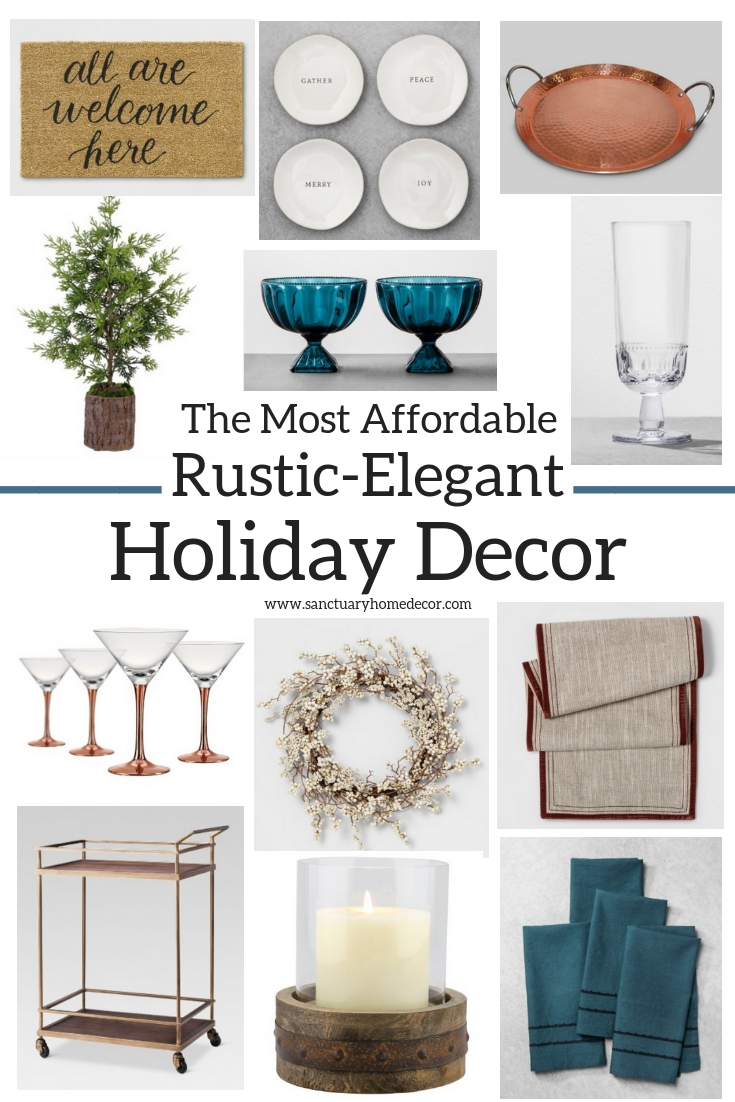 The Most Affordable Rustic-Elegant Holiday Decor