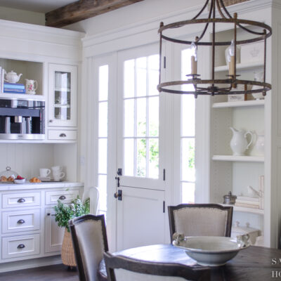 How I Transformed My Kitchen By Painting One Cabinet