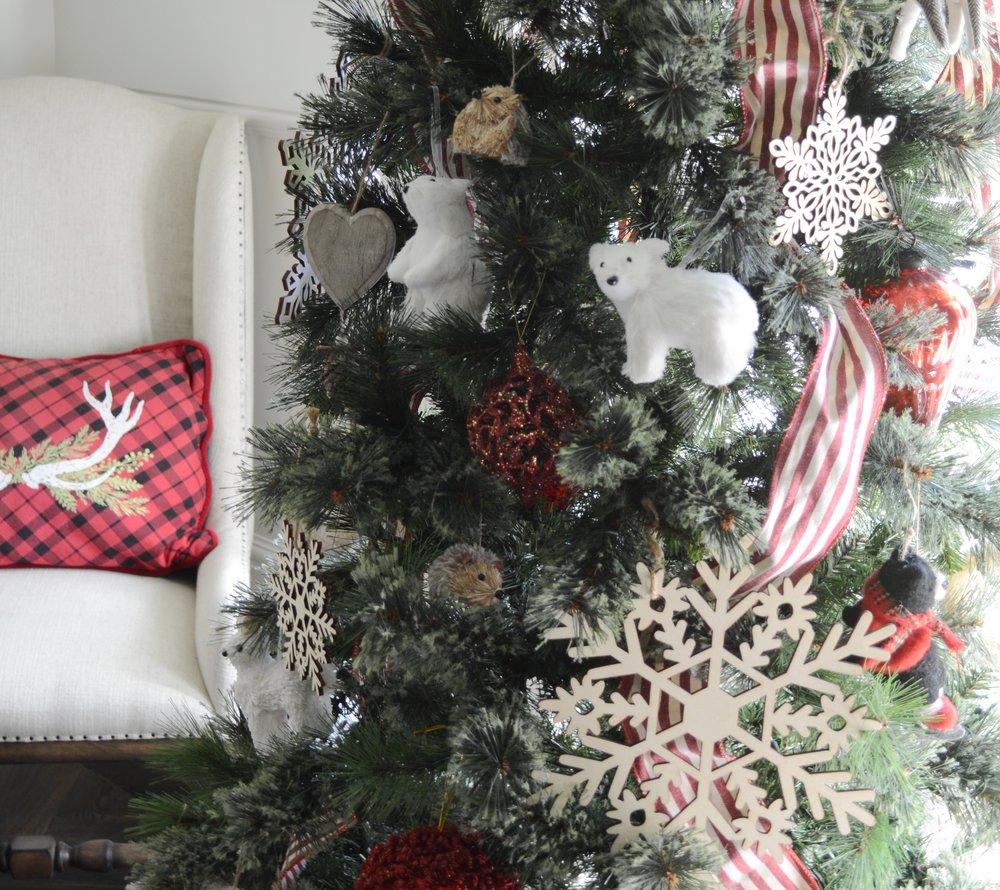 Woodland Animal Christmas Tree