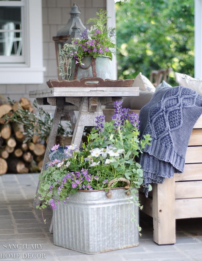 Garden Container Planting Tips - Sanctuary Home Decor