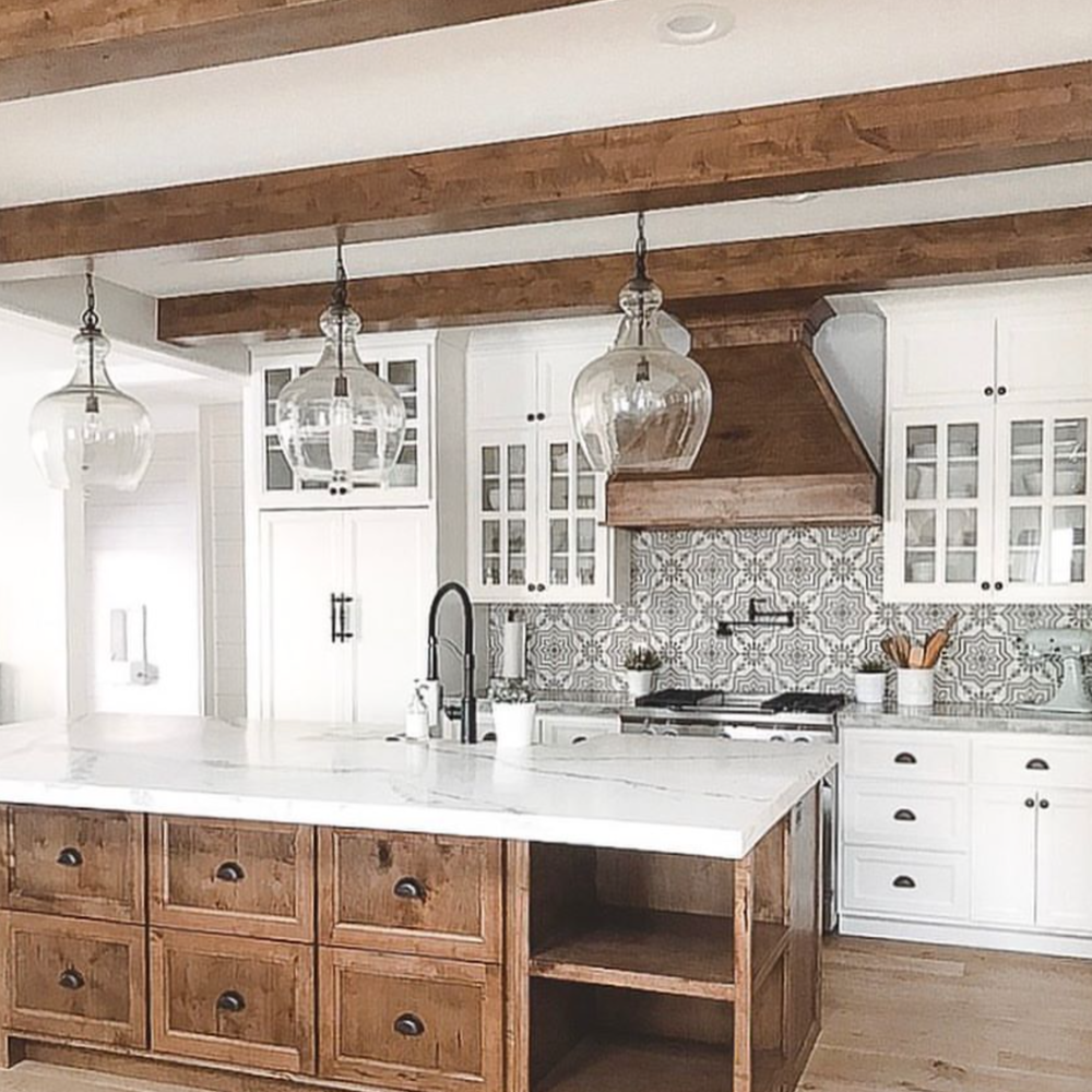 Make The Kitchen Backsplash More Beautiful: The 15 Most Beautiful Kitchens On Pinterest