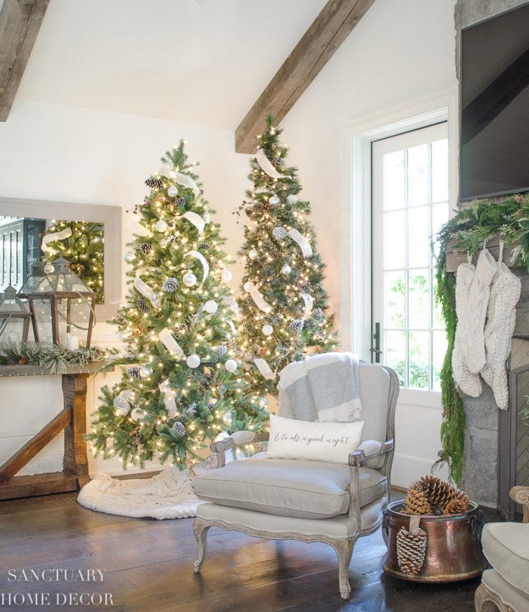 Design Ideas for Cozy, Neutral Christmas Decorating