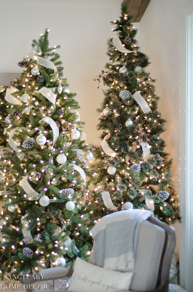 Put Ribbon On A Christmas Tree