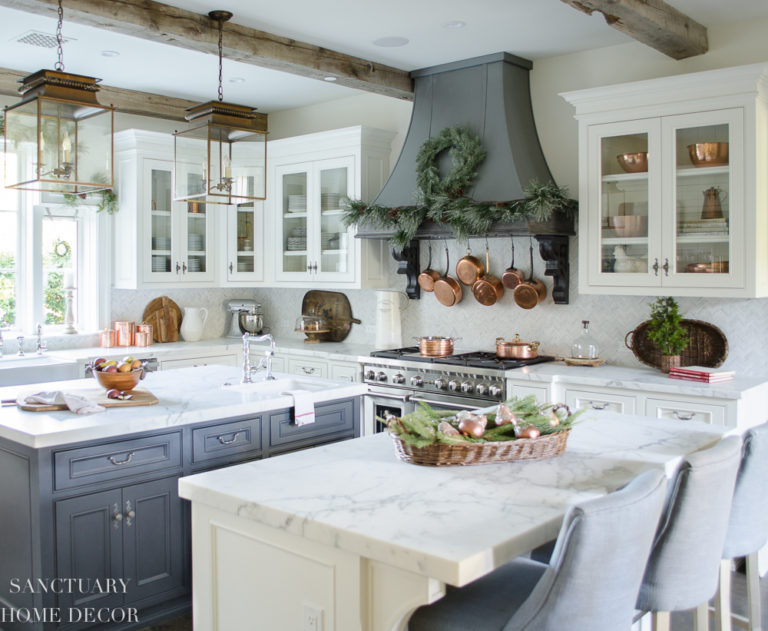 Holiday Home Tour – Rustic, Elegant, Neutral
