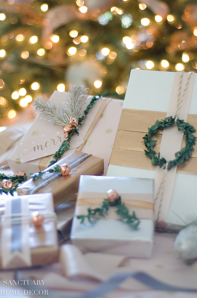 Last Minute Christmas Decorating and Gift Wrapping Ideas
