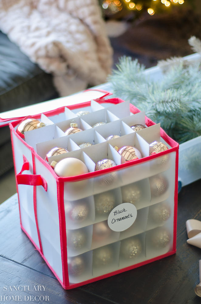 Space-Saving Solutions for Storing Your Christmas Decor