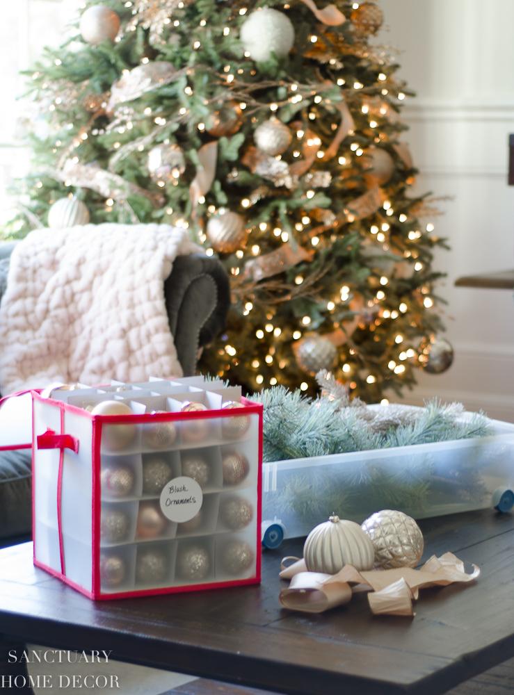 E Saving Solutions For Storing Your Christmas Decor