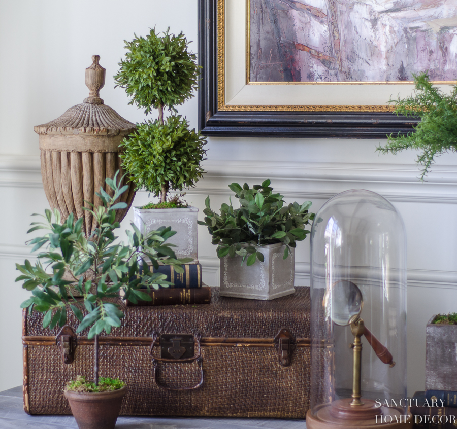 How to Decorate with Faux Flowers and Greenery to Get ...