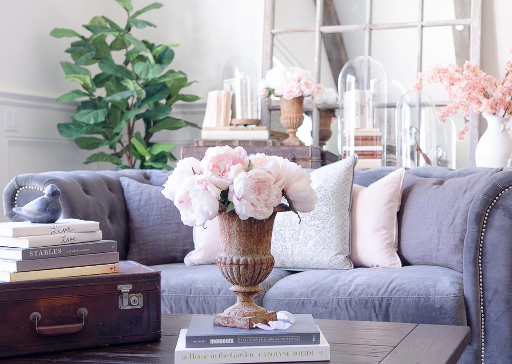 spring home tour light and bright decorating sanctuary home decor rh sanctuaryhomedecor com