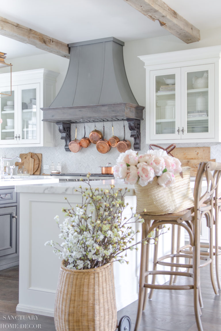 Spring Home Tour-Light and Bright Decorating