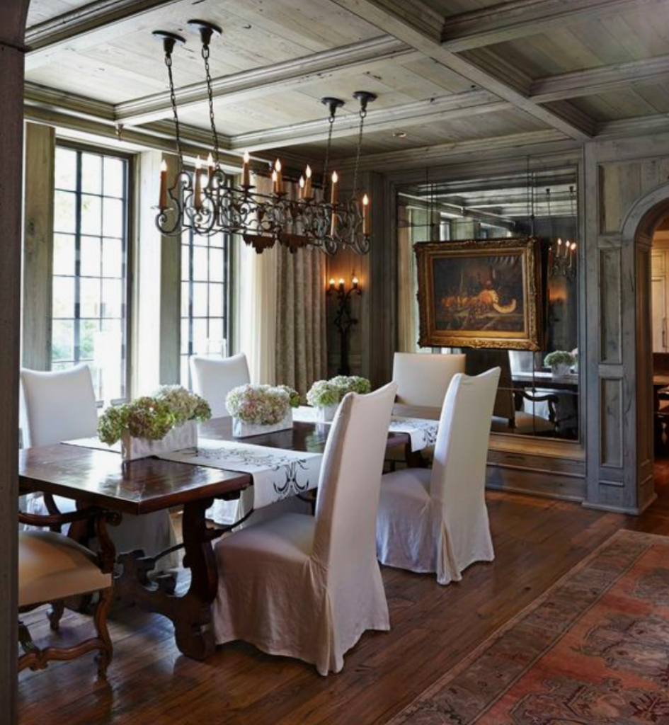 The 15 Most Beautiful Dining Rooms on Pinterest ... on Beautiful Room  id=47590