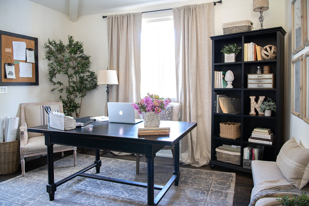 My Home Office Makeover Reveal Sanctuary Home Decor