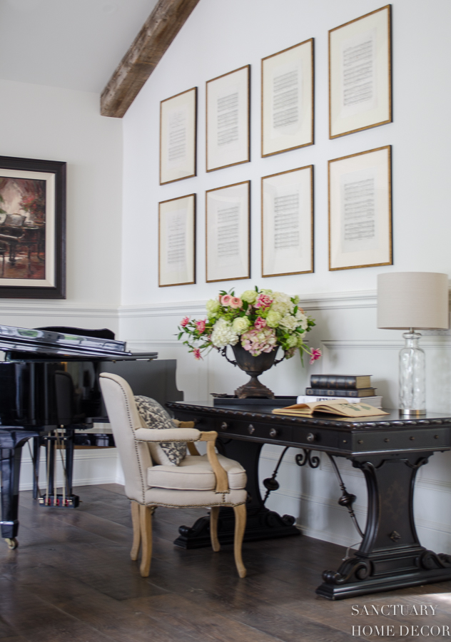 How To Decorate A Big Blank Wall Sanctuary Home Decor