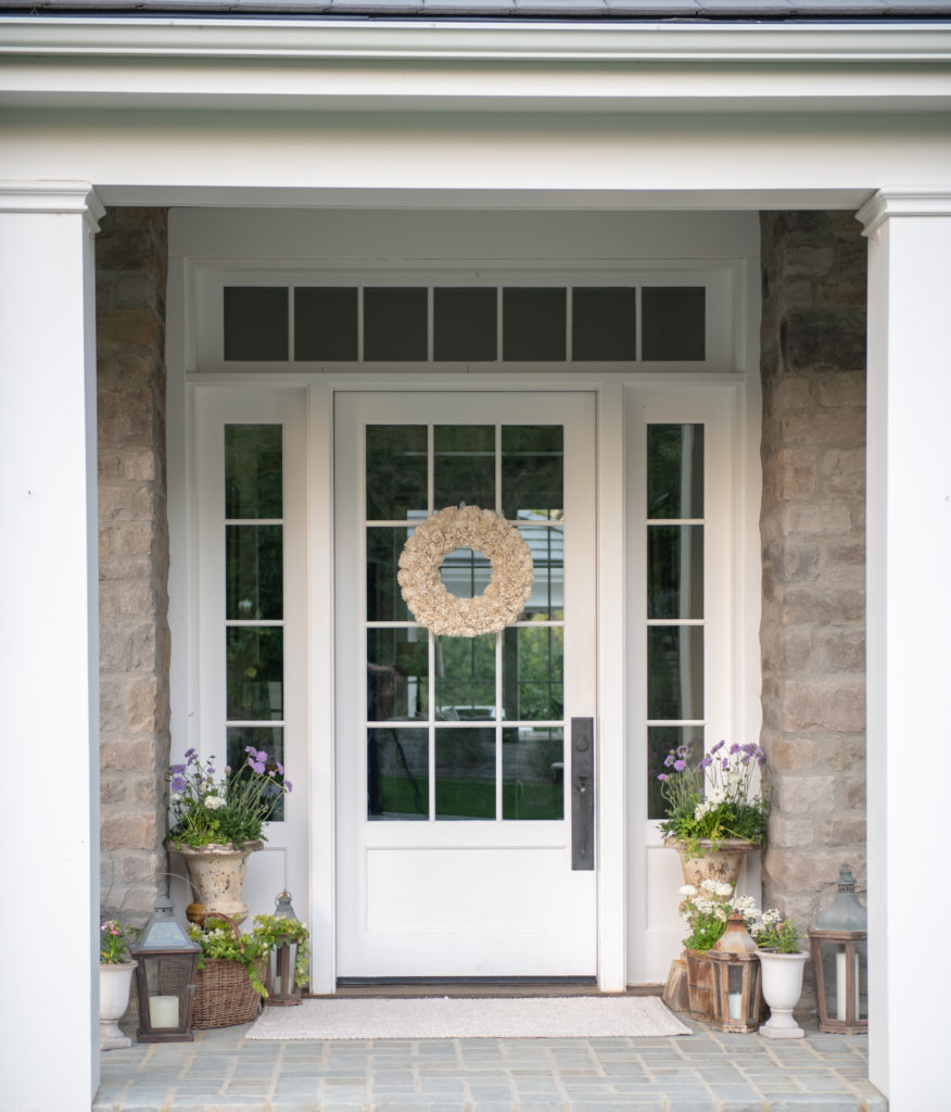Welcome Spring: Easy Front Porch Decorating - Sanctuary Home ...