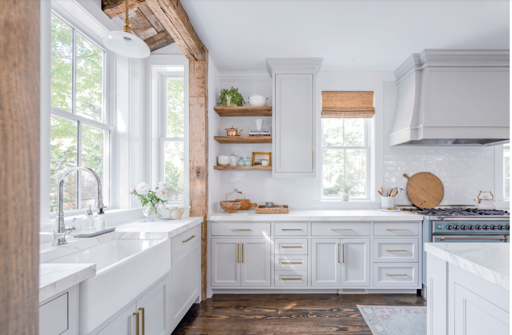 The 15 Most Beautiful Modern Farmhouse Kitchens On Pinterest