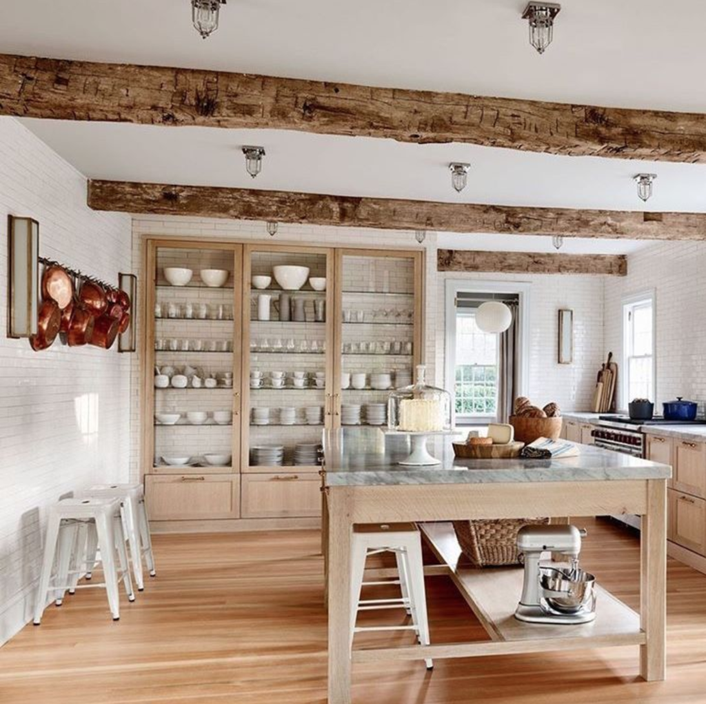 Architectural Digest: The 15 Most Beautiful Modern Farmhouse Kitchens On