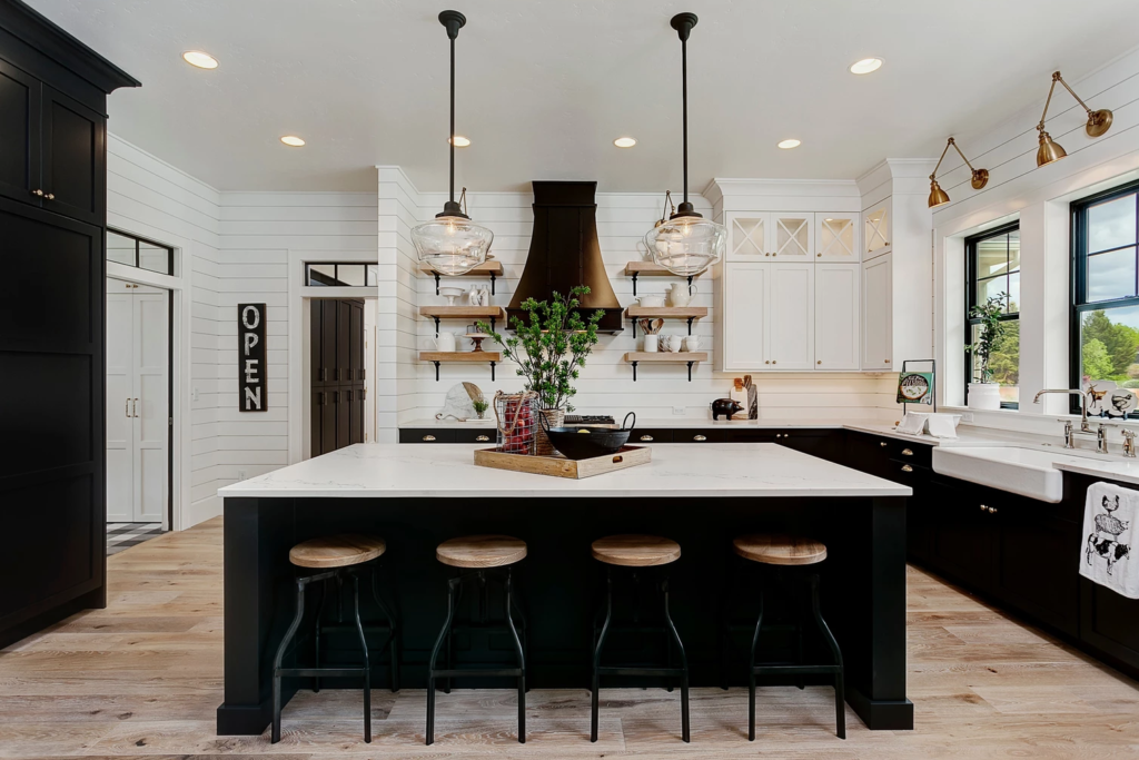 The 15 Most Beautiful Modern Farmhouse Kitchens On Pinterest Sanctuary Home Decor