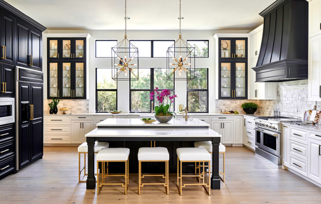 The 15 Most Beautiful Modern Farmhouse Kitchens on ... on Images Of Modern Kitchens  id=90919
