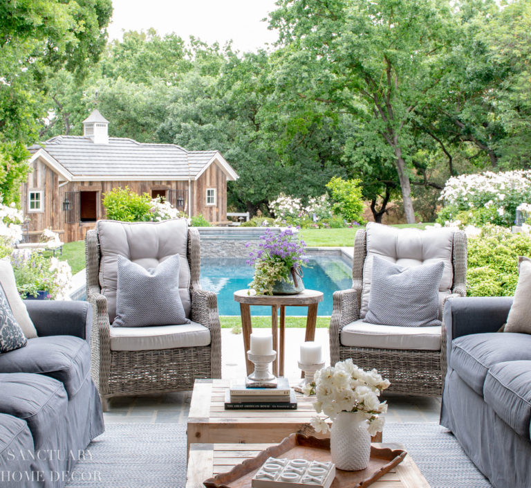 An Easy and Budget-Friendly Outdoor Room Makeover