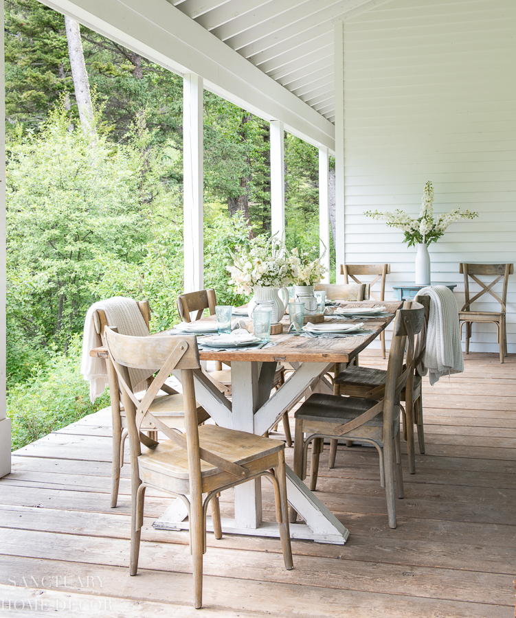 Home Tours, Renovations and Summer Entertaining