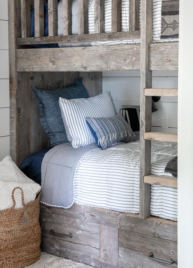Barn wood Bunk beds