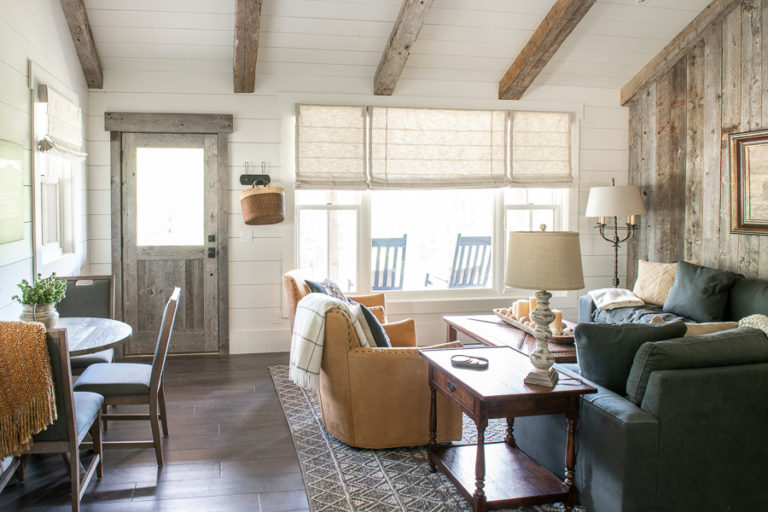 Guest Cottage Tour with Smith & Noble Shades